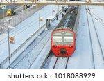 moscow  feb. 01  2018  winter...   Shutterstock . vector #1018088929