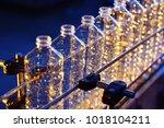 conveyor line for the... | Shutterstock . vector #1018104211