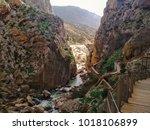 wide angle view of 'el caminito ... | Shutterstock . vector #1018106899