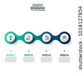 business data visualization.... | Shutterstock .eps vector #1018127854