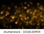 bokeh light background. ... | Shutterstock . vector #1018130905