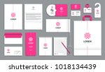 corporate identity branding... | Shutterstock .eps vector #1018134439