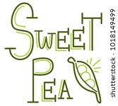 an image of a sweet pea writing ...