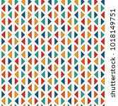repeated mini triangles on... | Shutterstock .eps vector #1018149751