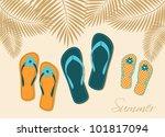 illustration of three pairs of... | Shutterstock .eps vector #101817094
