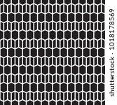 seamless vintage geometric... | Shutterstock .eps vector #1018178569