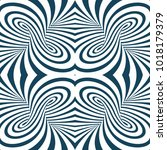 vector abstract lines pattern.... | Shutterstock .eps vector #1018179379