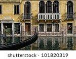 gondola in italy | Shutterstock . vector #101820319