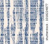 indigo vector tie dye seamless... | Shutterstock .eps vector #1018224877