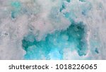 colorful turquoise rock | Shutterstock . vector #1018226065