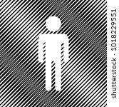man sign illustration. vector....   Shutterstock .eps vector #1018229551