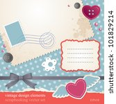 Scrap Booking Vector Set ...