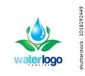 water vector logo | Shutterstock .eps vector #1018292449
