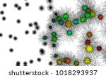 light colored vector background ... | Shutterstock .eps vector #1018293937