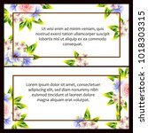 romantic invitation. wedding ...   Shutterstock . vector #1018303315