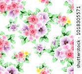 abstract elegance seamless... | Shutterstock .eps vector #1018305571