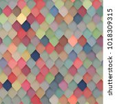 abstractcolorful tiled pattern  ... | Shutterstock .eps vector #1018309315
