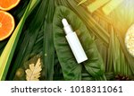 natural skincare beauty product ... | Shutterstock . vector #1018311061