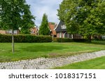 'oostwal' in the city of... | Shutterstock . vector #1018317151