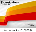 3d Vector Perspective Lines