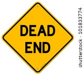 dead end sign | Shutterstock .eps vector #101833774