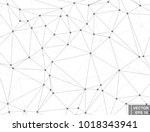abstract background. geometric. ... | Shutterstock .eps vector #1018343941