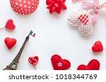 valentine day background | Shutterstock . vector #1018344769