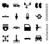origami style icon set   car... | Shutterstock .eps vector #1018350325