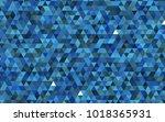 light blue vector polygon...