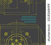 mechanics. technical design.... | Shutterstock .eps vector #1018368499