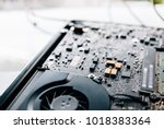 electronic control panel ...   Shutterstock . vector #1018383364