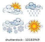 symbols of the weather