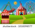 vector illustration of... | Shutterstock .eps vector #1018398577