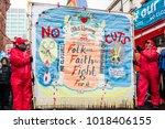 london  england. 3rd february... | Shutterstock . vector #1018406155