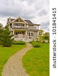 luxury house in vancouver ... | Shutterstock . vector #101841415