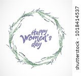 women's day typographical...   Shutterstock .eps vector #1018414537
