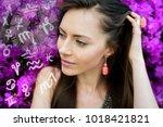 astrology  zodiac signs | Shutterstock . vector #1018421821