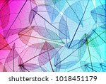 many transparent silhouettes of ... | Shutterstock . vector #1018451179