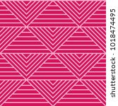 abstract seamless pattern with... | Shutterstock .eps vector #1018474495