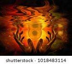 Surrealism. Hands Of A Prayer...