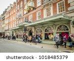 london  february  2018  motion... | Shutterstock . vector #1018485379
