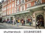 london  february  2018  motion... | Shutterstock . vector #1018485385