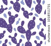 seamless vector pattern with...   Shutterstock .eps vector #1018511731
