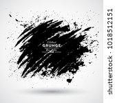 grunge splash banner | Shutterstock .eps vector #1018512151