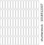 seamless geometric ornamental... | Shutterstock .eps vector #1018512337