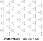 seamless geometric ornamental... | Shutterstock .eps vector #1018514431