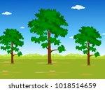 nature background vector | Shutterstock .eps vector #1018514659