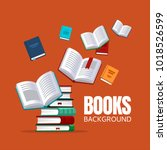 book background concept for... | Shutterstock .eps vector #1018526599