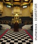 london   uk   01 29 18  grand... | Shutterstock . vector #1018537105