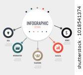 infographic design elements | Shutterstock .eps vector #1018541374